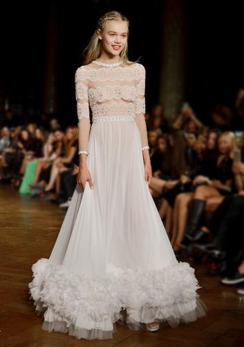 Kristian aadnevik wedding dress