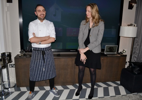 Head Chef Matt Laville and Olivia Byrne