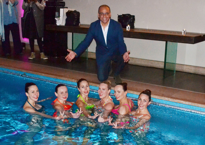 Theo Paphitis + models