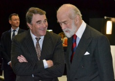 Nigel Mansell + Prince Michael of Kent