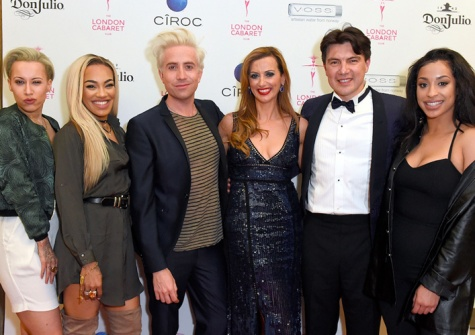 NickGrimshaw, Stooshe, Evelina Girling + Doni Fierro (TheLondonCabaretClubFounders)
