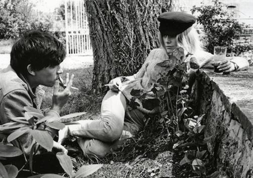 David Bailey and Catherine Deneuve as newlyweds, Normandy, 1965 © Eric Swayne