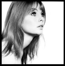 Jean Shrimpton, Studio photograph, 1963 © Duffy