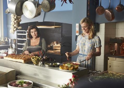 Delicious - Series 01 Episode 04 Dawn French as Gina, Emilia Fox as Sam