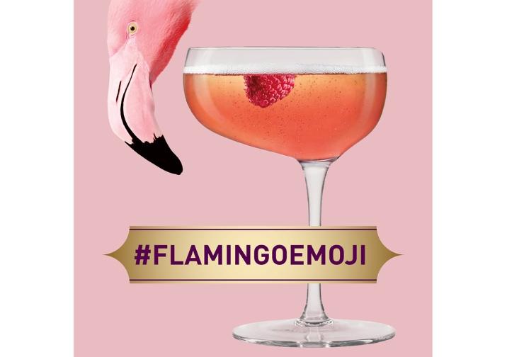 Chambord - Flamingo emoji