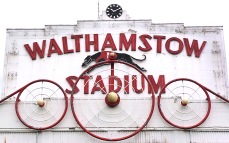 Sign of the now defunct Walthamstow Stadium Greyhound Racing Track