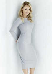 Grey Diamond Bodycon, -ú44.95, The Katie Piper Collection with Want That Trend.Com (Lifestyle)