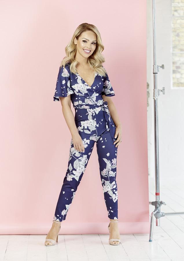 533486d0c97 Oriental Floral Jumpsuit