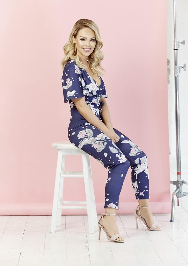 792a3e23f84 Oriental Floral Jumpsuit