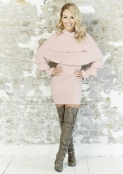Pink Ruffle Layer Dress, -ú39.95, The Katie Piper Collection with Want That Trend.Com (Lifestyle) (2)