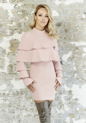 Pink Ruffle Layer Dress, -ú39.95, The Katie Piper Collection with Want That Trend.Com (Lifestyle) (4)