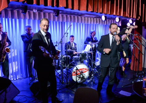The Commitments at the Quaglino's Q Legends Summer Launch Party hosted by Henry Conway at Quaglino's, 16 Bury Street, London England. 18 July 2017. Photo by Dominic O'Neill/SilverHub 0203 174 1069 sales@silverhubmedia.com