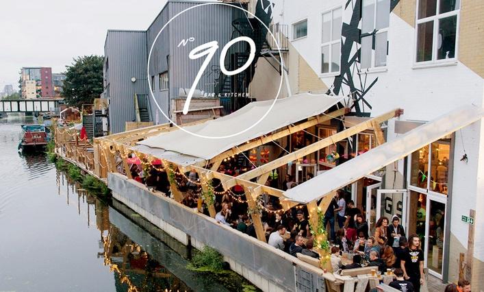 Number 90 Bar Kitchen London Olios