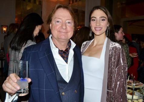 Iain Burton (Chairman, Aspinal of London) + Emma Sengstock