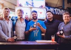 Benjamin Ritsema, Daniel Ritsema, Danilo Sassanelli, Sean Cambridge, Tom Arnold ©Fordtography