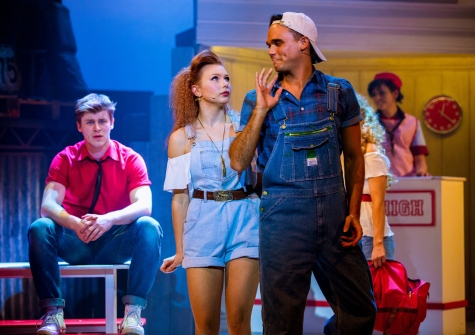 Gareth Gates as Willard in Footloose. Photo Credit Matt Martin