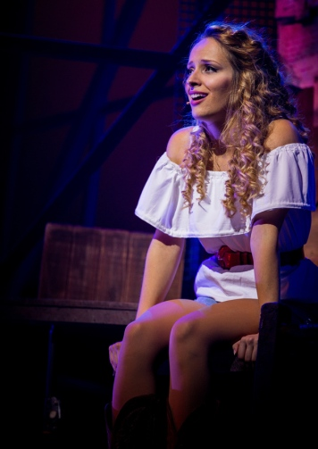 Hannah Price as Ariel Moore in Footloose. Photo Credit Matt Martin (3)