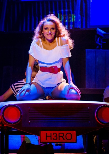 Hannah Price as Ariel Moore in Footloose. Photo Credit Matt Martin