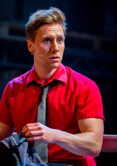 Joshua Dowen as Ren McCormack in Footloose. Photo Credit Matt Martin