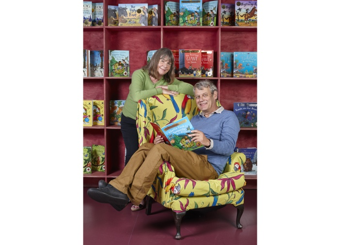 Julia Donaldson + Axel Scheffler ©Debra Hurford Brown
