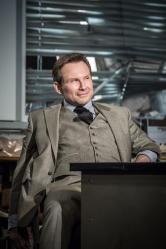 Christian Slater (Ricky Roma) - Glengarry Glen Ross at The Playhouse (c) Marc Brenner