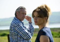 KEEPING FAITH / UN BORE MERCHER Location - Laugharne. Wales 10th May 2017 Faith(EVE MYLES) Tom(ANEIRIN HUGHES) PHOTO BY ALISTAIR HEAP