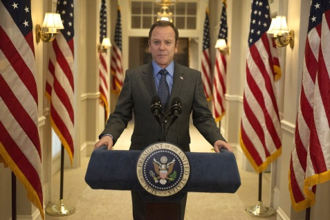 "DESIGNATED SURVIVOR - ""Target"" - White House Council Kendra Daynes finds herself in a dangerous situation that puts another White House staffer's life at risk, while Hannah Wells takes an unexpected trip for answers, on ABC's ""Designated Survivor,"" WEDNESDAY, MAY 9 (10:00-11:00 p.m. EDT), on The ABC Television Network. (ABC/Sven Frenzel) KIEFER SUTHERLAND"