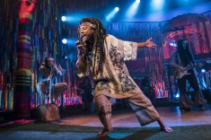 HAIR THE MUSICAL, , Director - Jonathan O'Boyle, Lighting - Bem M Rogers, Choreographer - William Whelton, Designer - Maeve Black, New Wimbledon Theatre, London, UK, 2019, Credit: Johan Persson