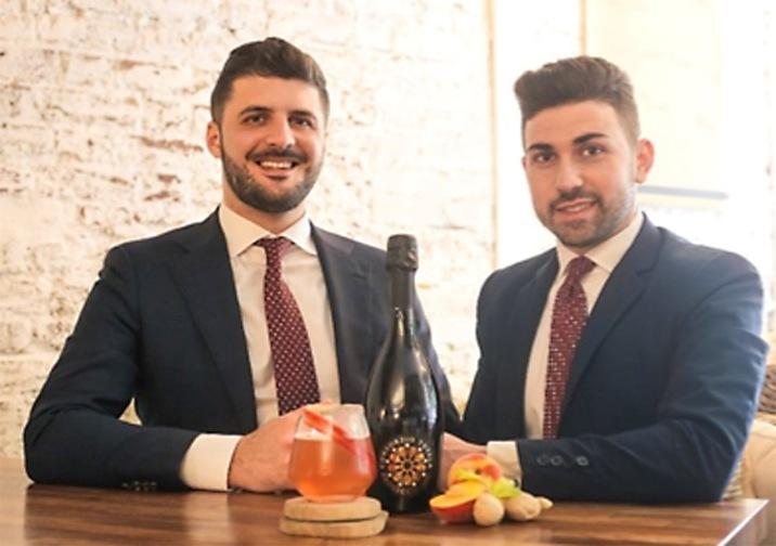 Gaspare Di Carlo and Alessandro Geraci of Hospitalian, for Prosecco DOC