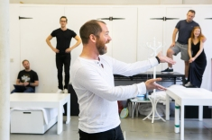 Daniel Boys (Marvin) - Rehearsal Images - Falsettos - Photo by Matthew Walker - (3937)