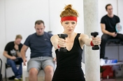 Laura Pitt-Pulford (Trina) - Rehearsal Images - Falsettos - Photo by Matthew Walker - (4209)