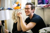 Oliver Savile (Whizzer) - Rehearsal Images - Falsettos - Photo by Matthew Walker - (3897)