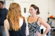 Tara Overfield-Wilkinson (Director) - Rehearsal Images - Falsettos - Photo by Matthew Walker - (3848)